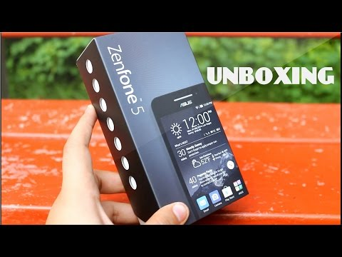 ASUS Zenfone 5 A501CG Unboxing India Specifications Look & Feel and Hardware Tour