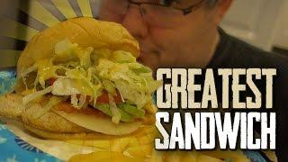 THE GREATEST CHICKEN SANDWICH EVER!