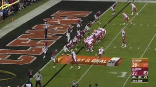 Clemson Game winning TD vs Alabama! College football 1-9-17