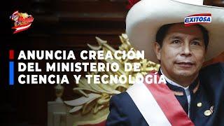 MINISTERIO DE CIENCIA Y TECNOLOGIA PONDRA AL PERU EN EL SIGLO XXI