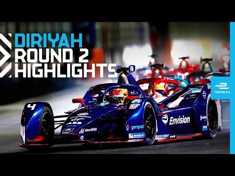 フォーミュラE 2021 第2戦ディルイーヤ 決勝レースハイライト動画