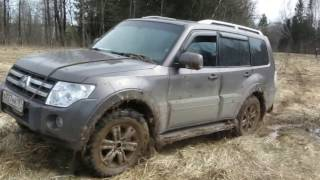 Mitsubishi pajero 4, Land rover discovery 3 off road experience