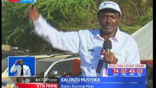 NASA flag bearer Raila Odinga hits out at Jubilee for the lack of security in Baringo County