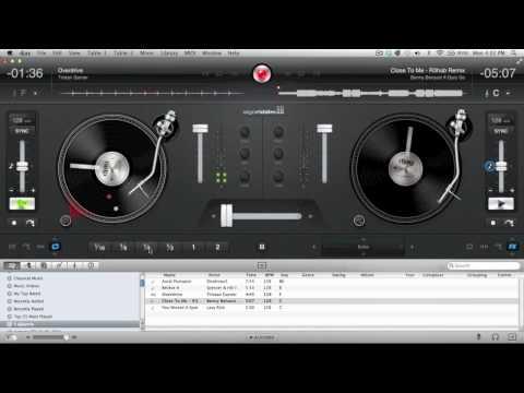 DJ Ravine's djay 4 Harmonic Electro Mix