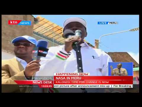 Kalonzo Musyoka speaking Ameru language