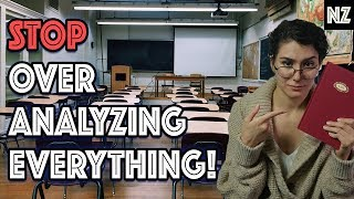When The Teacher Overanalyzes Your Book | Writing Humor