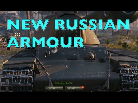 WOT - New Russian Armour Introduced Into Game | World of Tanks