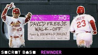 David Freese's epic World Series walk-off demands a deep rewind   2011 Cardinals-Rangers Game 6
