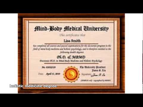 holistic medicine degree