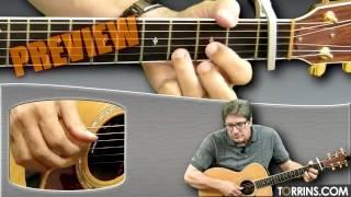 SnowTime Guitar Lesson (James Taylor) (PREVIEW)