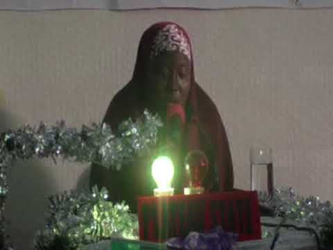 2014 Nigerian Musabaka: Plateau State 60 Hizb Female Participant