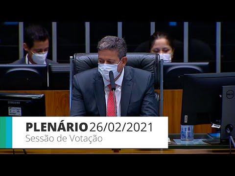 Plenário - Deputados votam PEC das Prerrogativas - 26/02/21 - 14:30