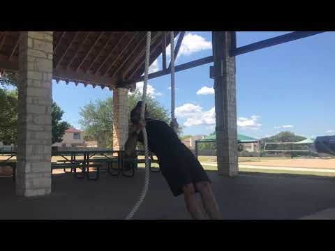 Rope rows