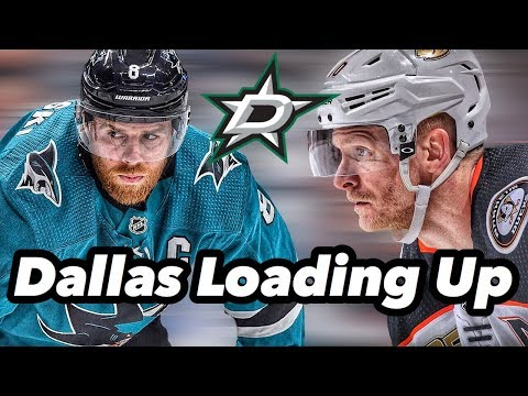 Joe Pavelski And Corey Perry Sign With The Dallas Stars