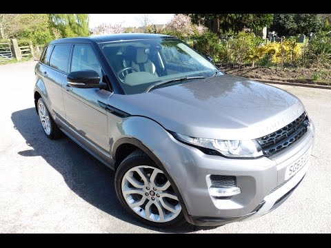 2013 (63) LAND ROVER RANGE ROVER EVOQUE 2.2 SD4 DYNAMIC 5DR Automatic