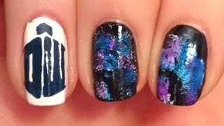 Doctor Who Nail Art Tutorial (REQUEST)