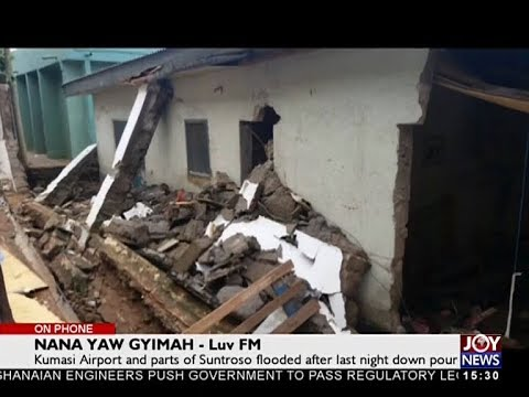 Two people dead following thursday downpour in Kumasi - The Pulse on JoyNews (11-5-18)