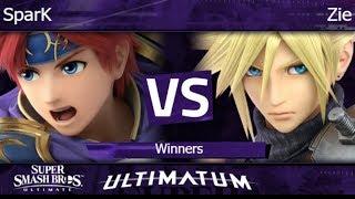 Ultimatum  - SparK (Roy) vs Zie (Cloud) Winners - SSBU