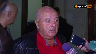 Венци Стефанов: Загорчич остава, а на Боби Михайлов ще кажа лично какво мисля за съдиите