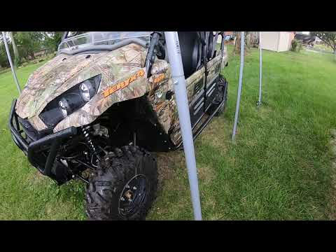 2021 Kawasaki Teryx4 Camo at Shreveport Cycles