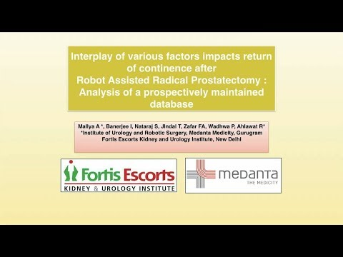 Interplay of Various Factors Impacts Return of Continence After RARP: Database Analysis