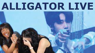 MONSTA X   ALLIGATOR LIVE REACTION