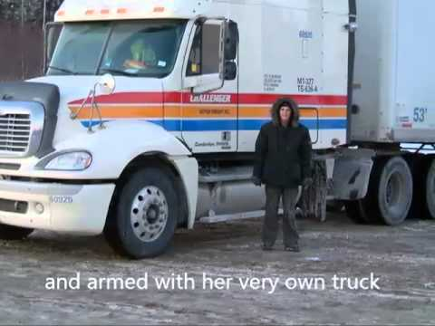 Trucking in English Book Trailer