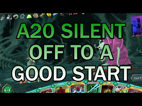 This Is Just The Beginning | Ascension 20 Silent Run | Slay the Spire