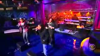 Chingy Gimme Dat Live on David Letterman 2008