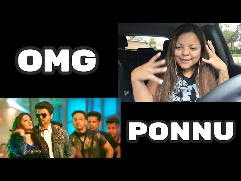 Download Sarkar - OMG Ponnu Song Video Reaction | Thalapathy Vijay, Keerthy Suresh HD Mp4 3GP Video and MP3