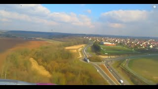 preview picture of video 'WizzAir Airbus A320 - Beauvais Airport (BVA), landing'