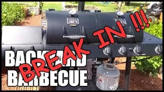 Breaking In An Offset Smoker Or Gas Grill | Seasoning Your BBQ