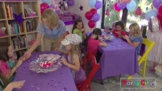 Glitzy Girl Birthday Party Ideas