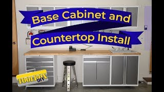Installing Wall Mounted Base Cabinets | Garage Org Episode 6