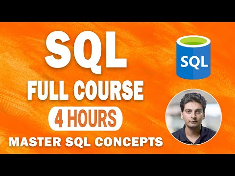 SQL Tutorial For Beginners   SQL Full Course   Learn SQL in 4 ...