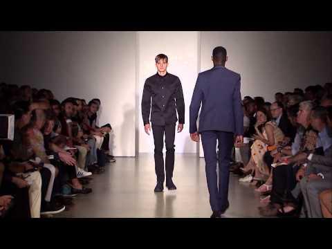 Calvin Klein Collection Men's Spring 2014 Runway Show - презентация одежды Calvin Klein