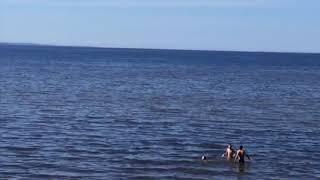 Балтийское море ! Жара !