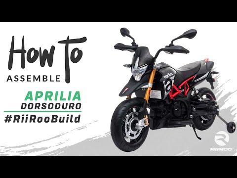 Aprilia Dorsoduro 900 Licensed Motorbike 12v Kids Electric Ride On Bike Assembly Instructions