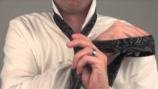 How to tie a tie 1 minute tutorial