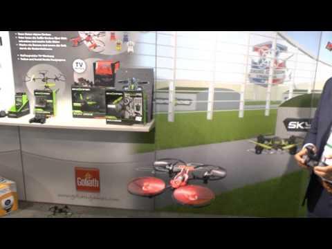 Drohne Sky Viper (Goliath) / Neuheit Vorschau / Nürnberger Spielwarenmesse 2017
