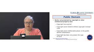 Professional Development Session - FAU Library - Images and Copyright in eLearning
