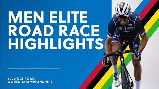 Men Elite Road Race Highlights | 2020 UCI Road World Championships