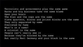KRS One - Same Shit (lyrics)