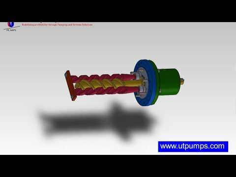 Triple Screw Pump Model-PDE