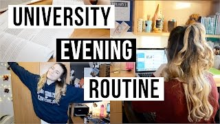 University Evening Routine | ohhitsonlyalice
