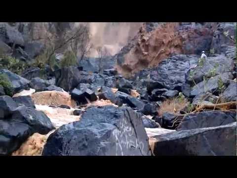 سـيول وشلالات نجران سد ابا رشاش  1433