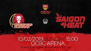 ABL9 || Away - Game 18: Singapore Slingers vs Saigon Heat 10/02 | Full Game Replay