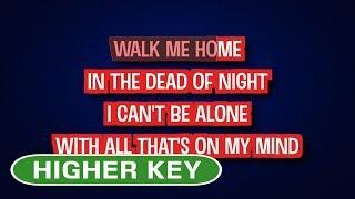 Pink   Walk Me Home | Karaoke Higher Key