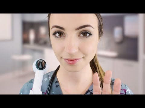 [ASMR] Dr. Gibi Walk-in Clinic Medical Appointment (Whispered)