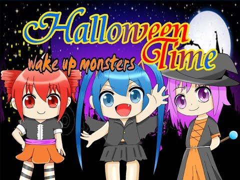 【初音ミク・重音テト・闇音レンリ オリジナル】Halloween Time